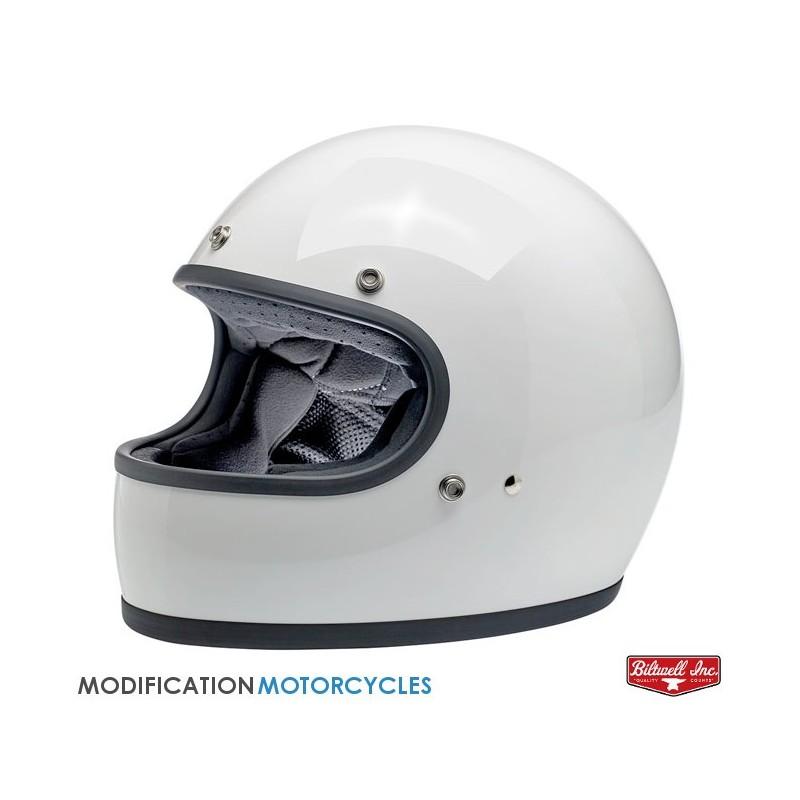 Casque Custom 500 Solid Noir Brillant Bell Helmet